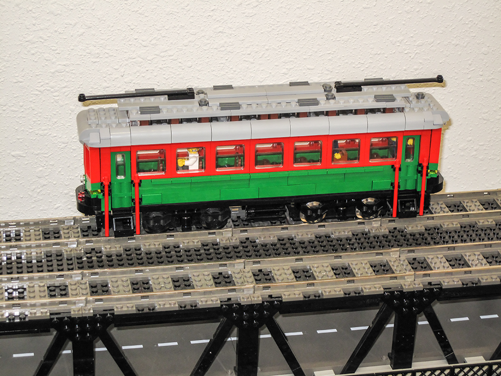 Lego High Level Bridge Streetcar