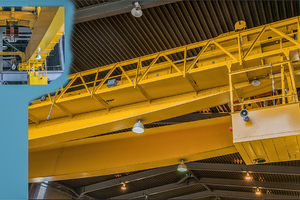 HP Plant Turbine Hall Crane