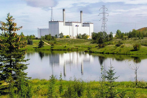 A picture of Clover Bar Generating Station