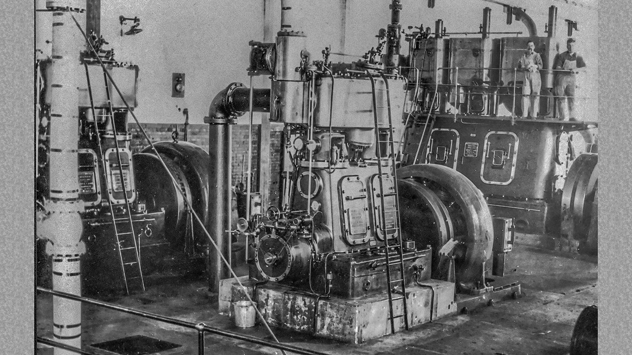 1929 Rossdale Engine room