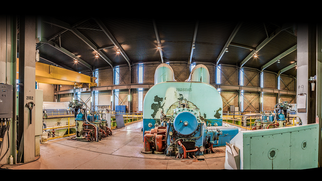 Parsons Steam Turbine
