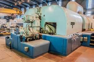 Brown-Boveri steam turbine