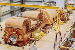Clover Bar Generating Station Turbine-Generators 4