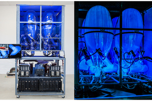 600 VDC Mercury Arc Rectifier for converting alternating current to direct current