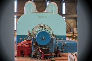C.A. Parsons Steam Turbine