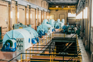 3 steam turbine one 15MW and two 39 MW units